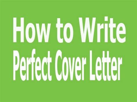 How to Write a Cover Letter for a Healthcare job